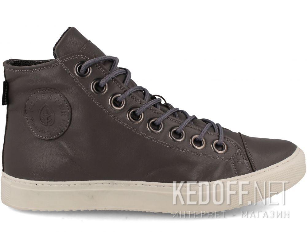 Мужские кожаные кеды Forester 132125-3713 купить Киев