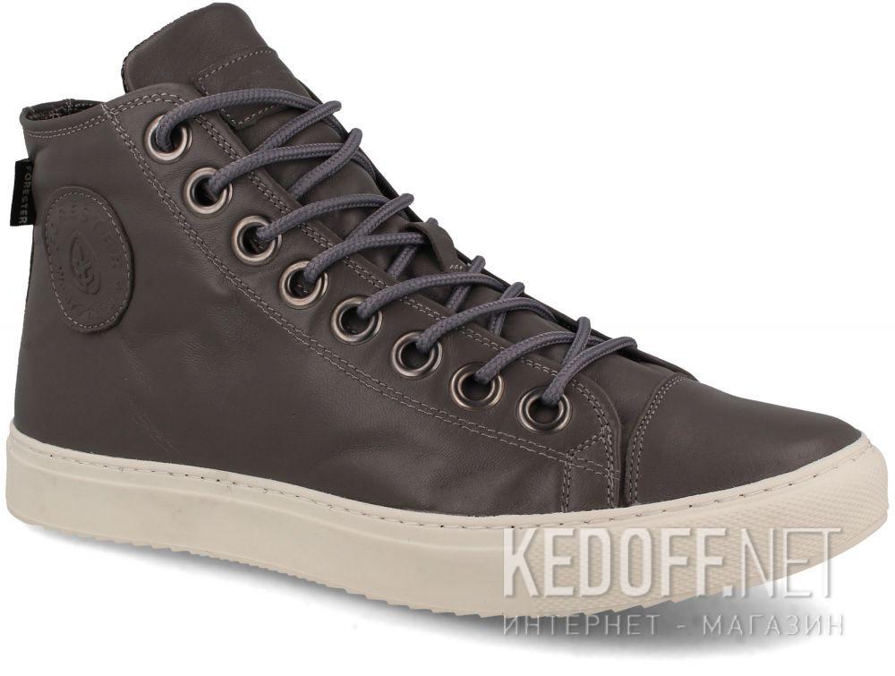 Купить Мужские кожаные кеды Forester 132125-3713