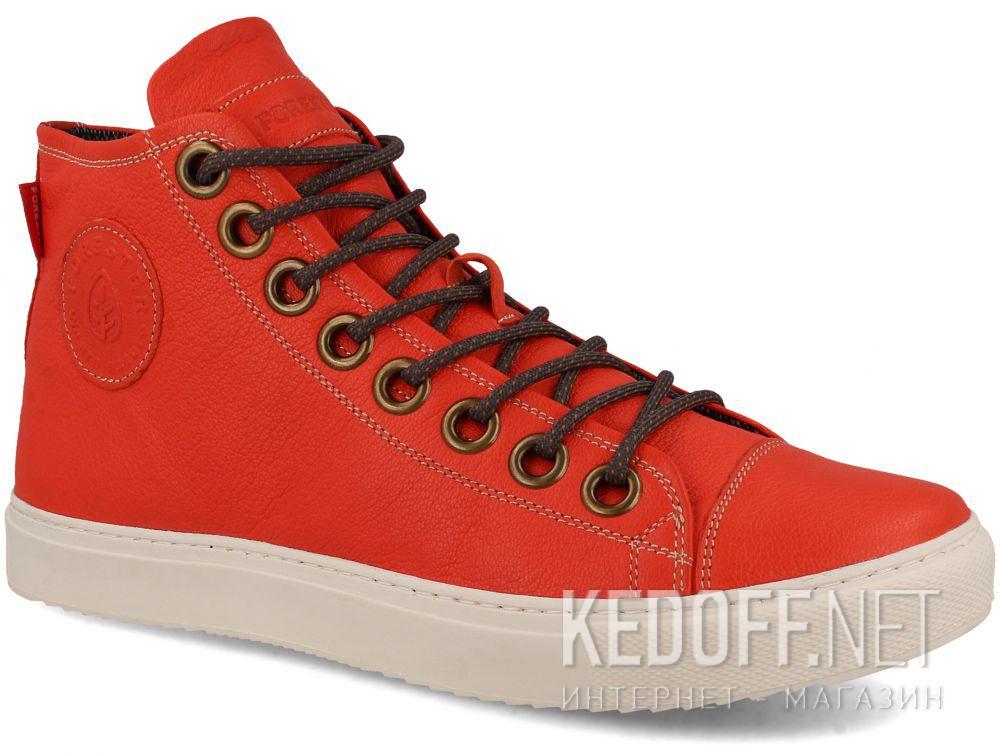 Купить Мужские кожаные кеды Forester 132125-44