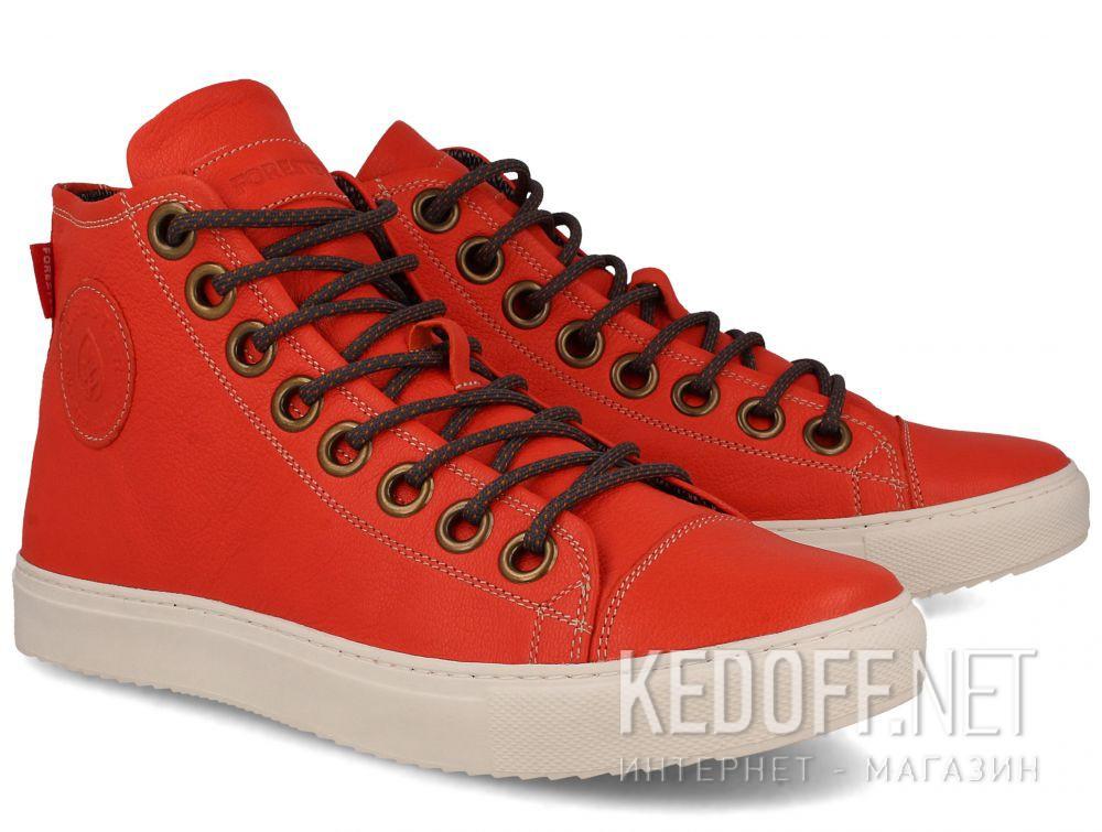 Мужские кожаные кеды Forester 132125-44 купить Украина