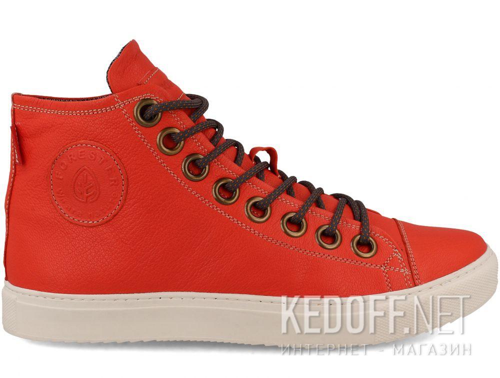 Мужские кожаные кеды Forester 132125-44 купить Киев