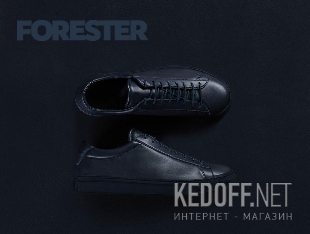 Мужские кожаные кеды Forester City Explorer 5658-105 все размеры