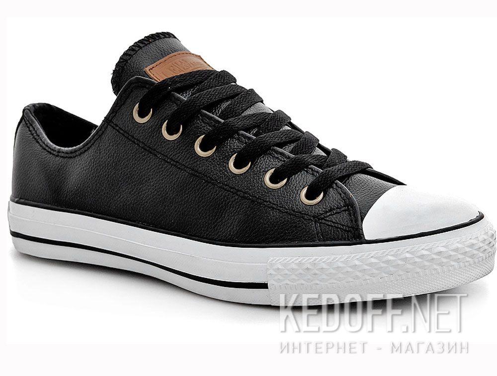 Купить Мужские кожаные кеды Las Espadrillas LE38-107348   (чёрный)