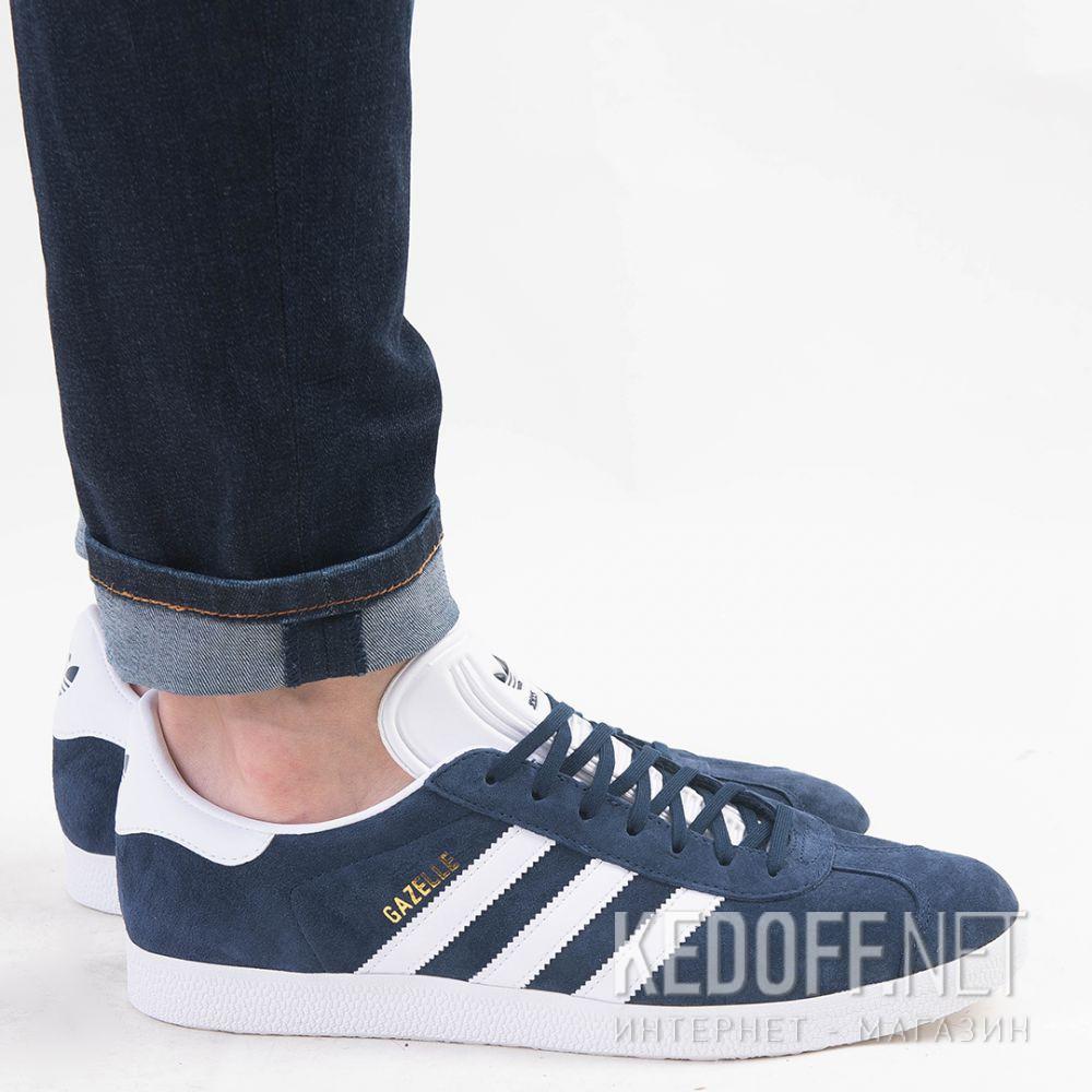 Мужские кроссовки Adidas Originals Gazelle BB5478   (тёмно-синий) все размеры
