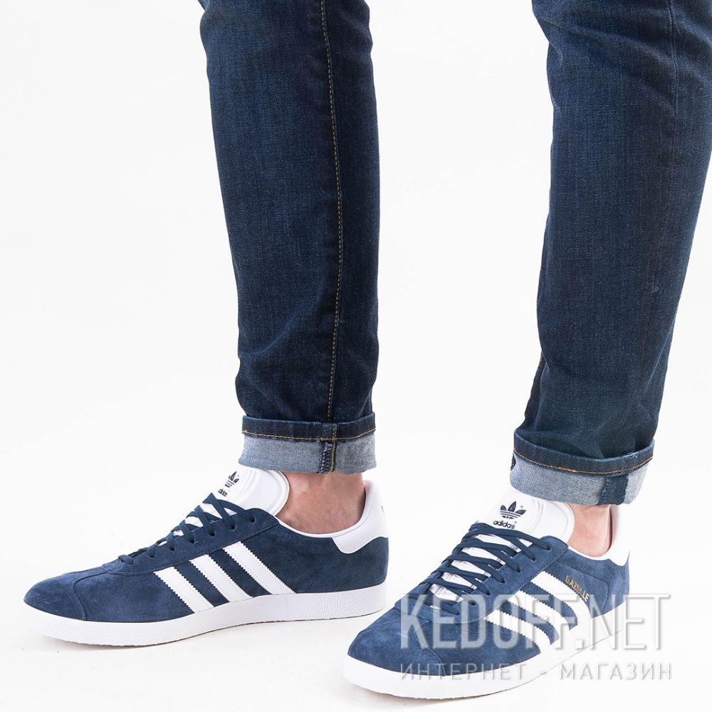 Доставка Мужские кроссовки Adidas Originals Gazelle BB5478   (тёмно-синий)
