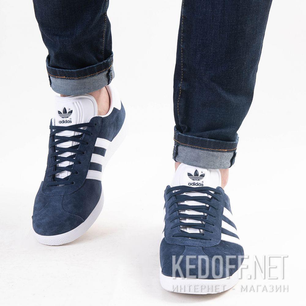 Мужские кроссовки Adidas Originals Gazelle BB5478   (тёмно-синий) доставка по Украине