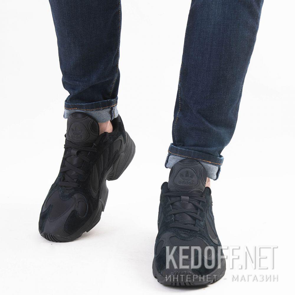Мужские кроссовки Adidas Yung I G27026 Чёрные все размеры