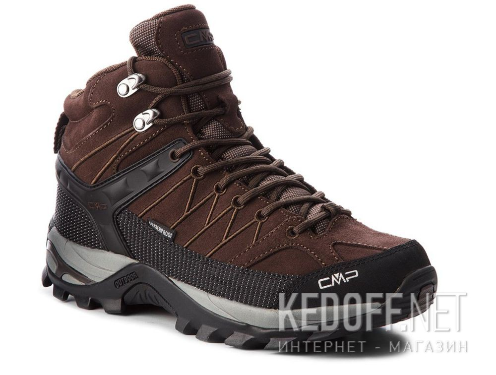 Мужские кроссовки CMP Rigel Mid Trekking Shoes Wp 3Q12947-61BN