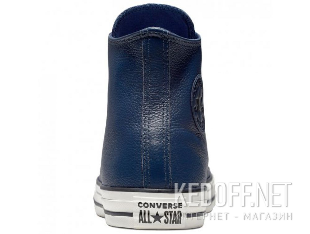 Оригинальные Мужские кеды Converse Chuck Taylor All Star Tumbled Leather HI 161495C