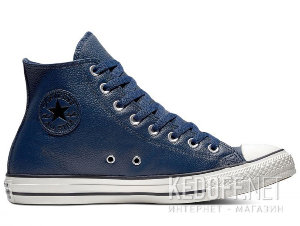 Мужские кеды Converse Chuck Taylor All Star Tumbled Leather HI 161495C купить Украина
