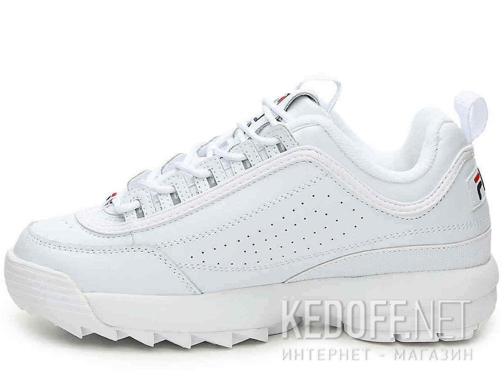 Fila Leather Disruptor Ii Premium in White Leather (White