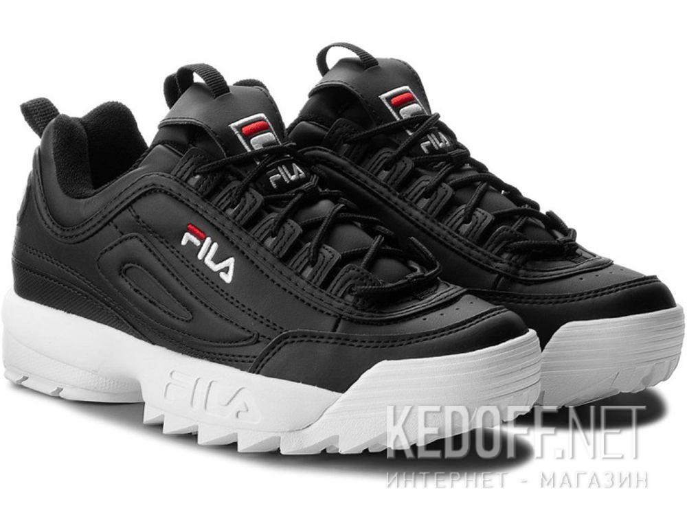 Мужские кроссовки Fila Disruptor Low 1010262 25Y Black White купить Украина