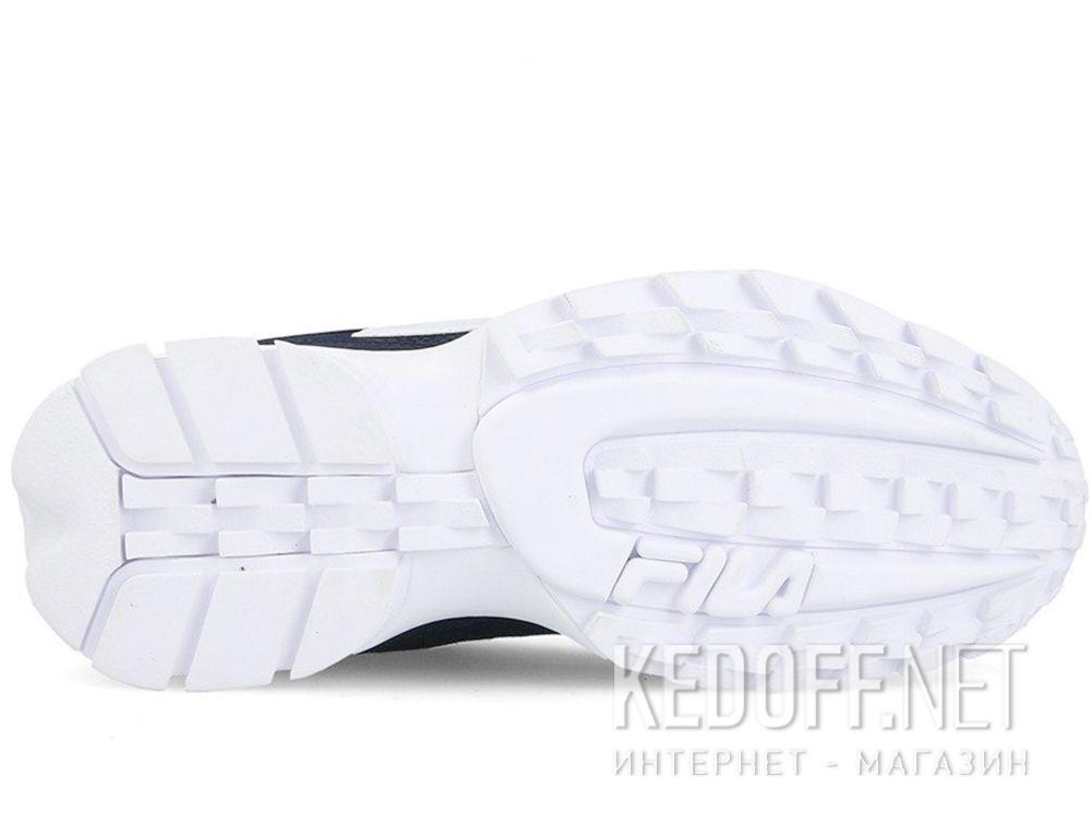 Мужские кроссовки Fila Disruptor Low 1010262 25Y Black White описание