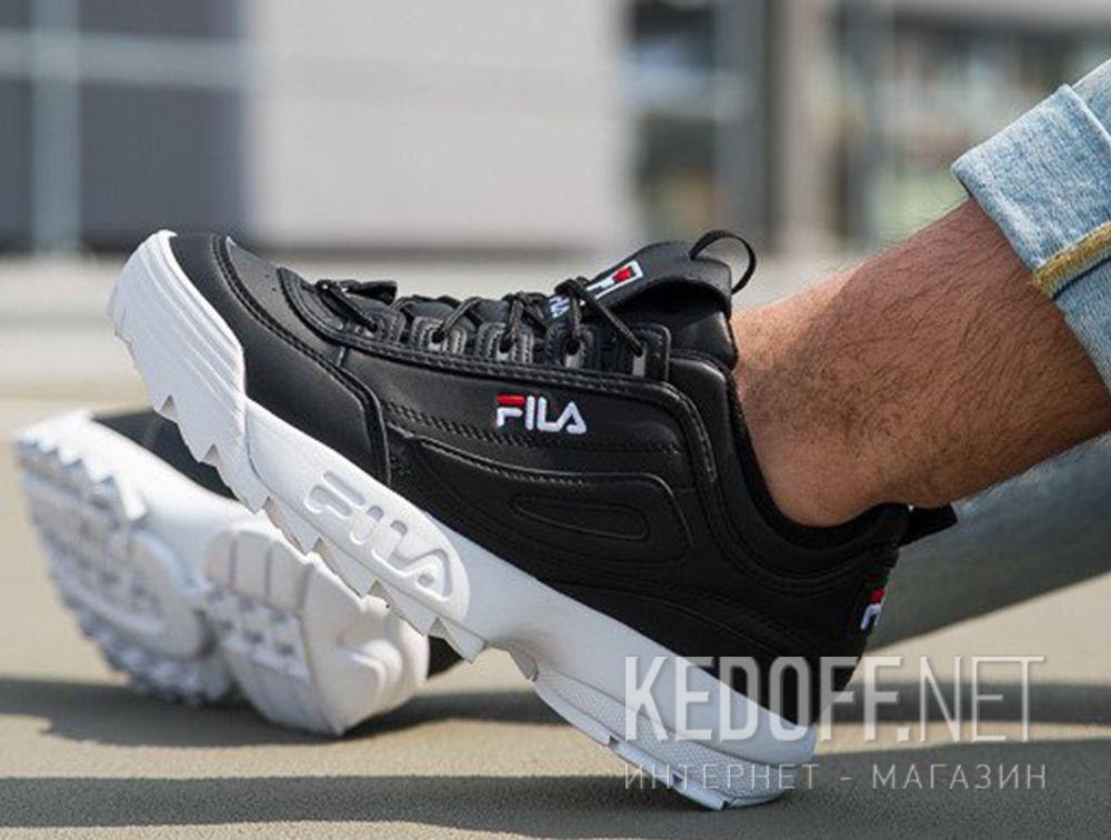 603fad50 Shop Mens sneakers Fila Disruptor Low 1010262 25Y Black White at ...