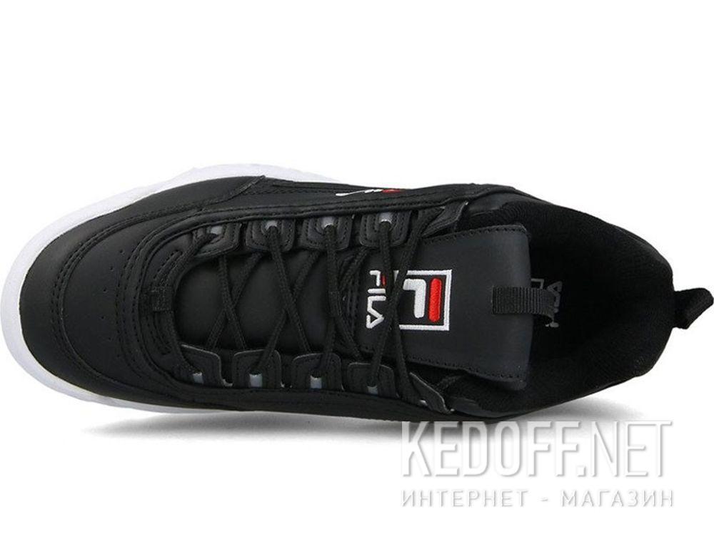 Мужские кроссовки Fila Disruptor Low 1010262 25Y Black White купить Киев