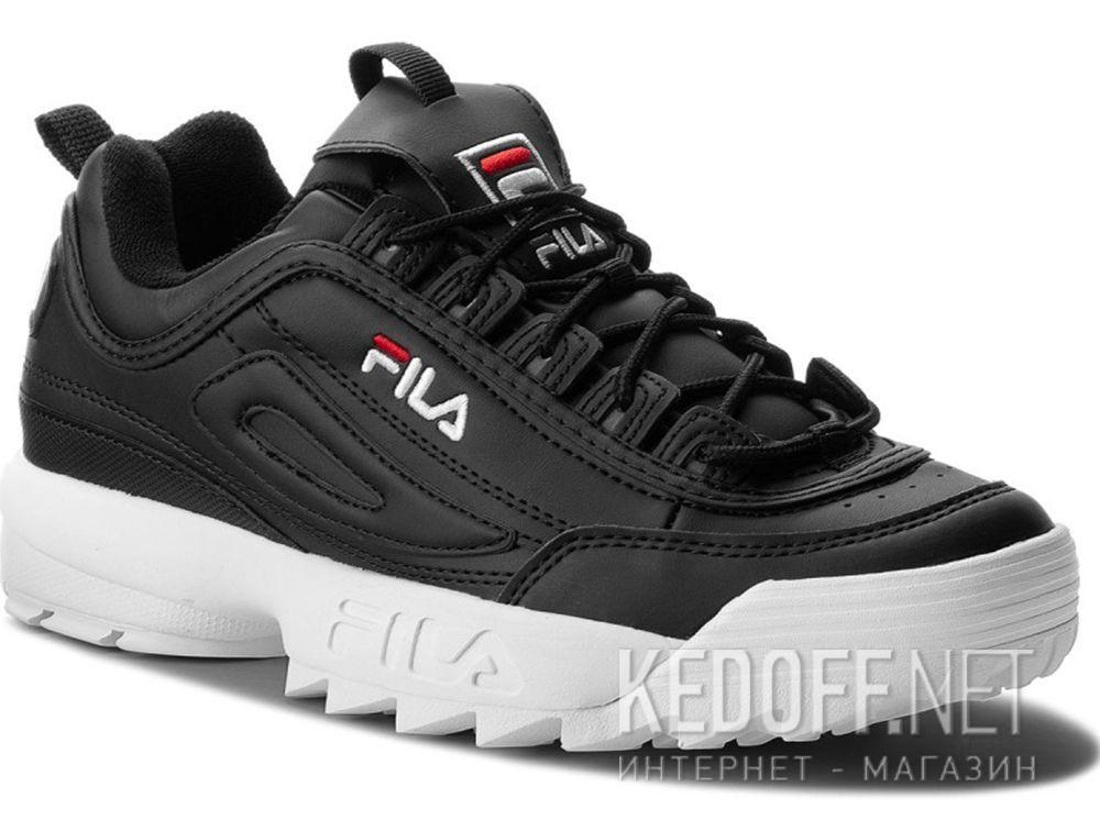 Купить Мужские кроссовки Fila Disruptor Low 1010262 25Y Black White