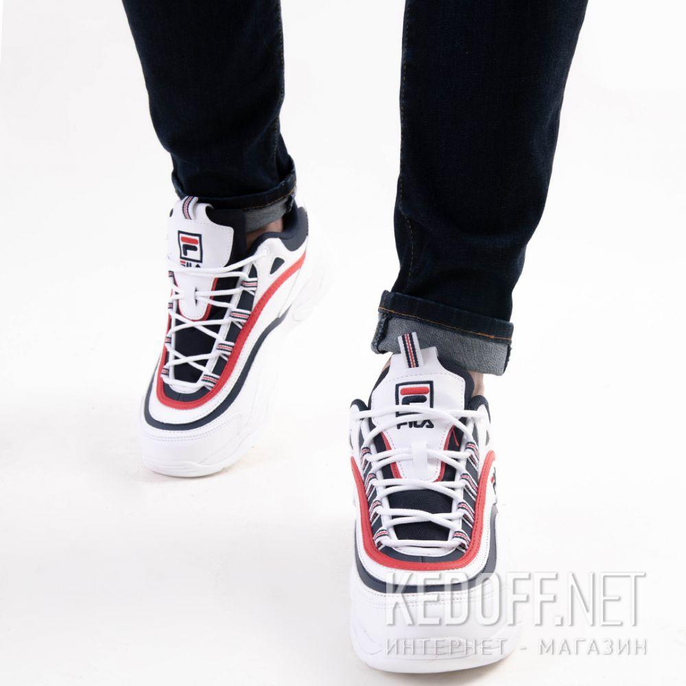 Цены на Мужские кроссовки Fila Ray 1CM00501-125 Белый