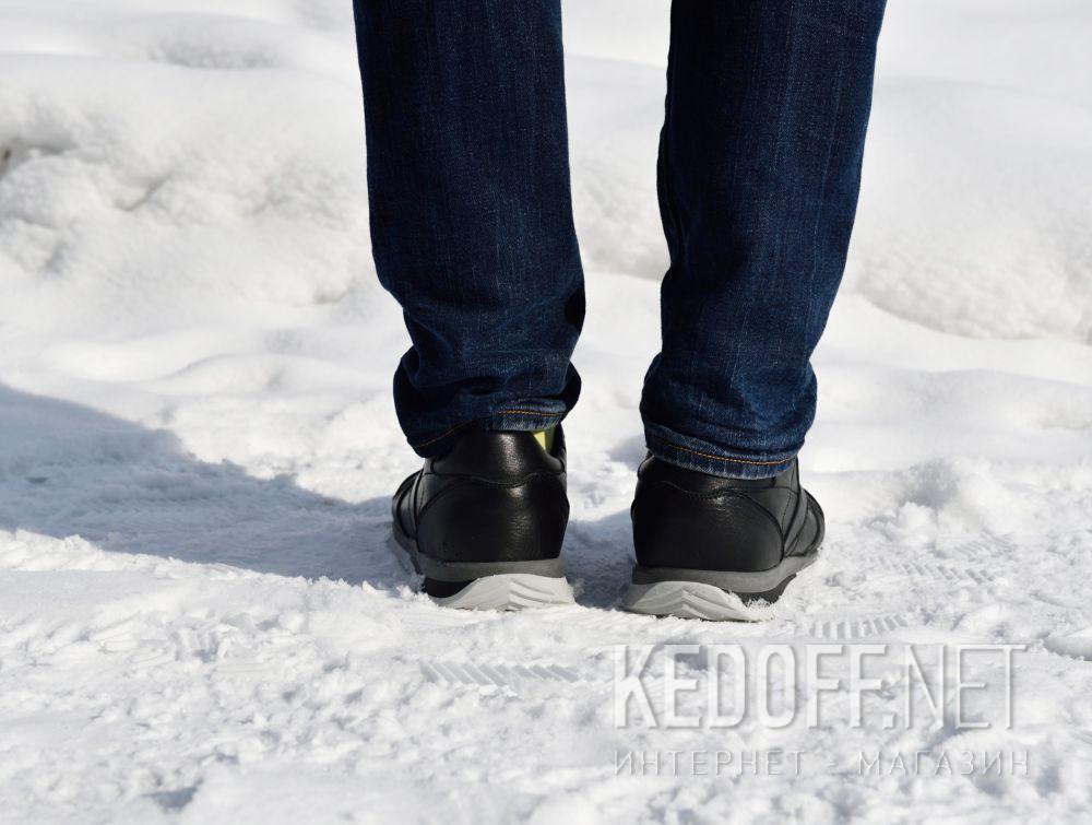Мужские кроссовки Forester Original Black Leather 4101-27