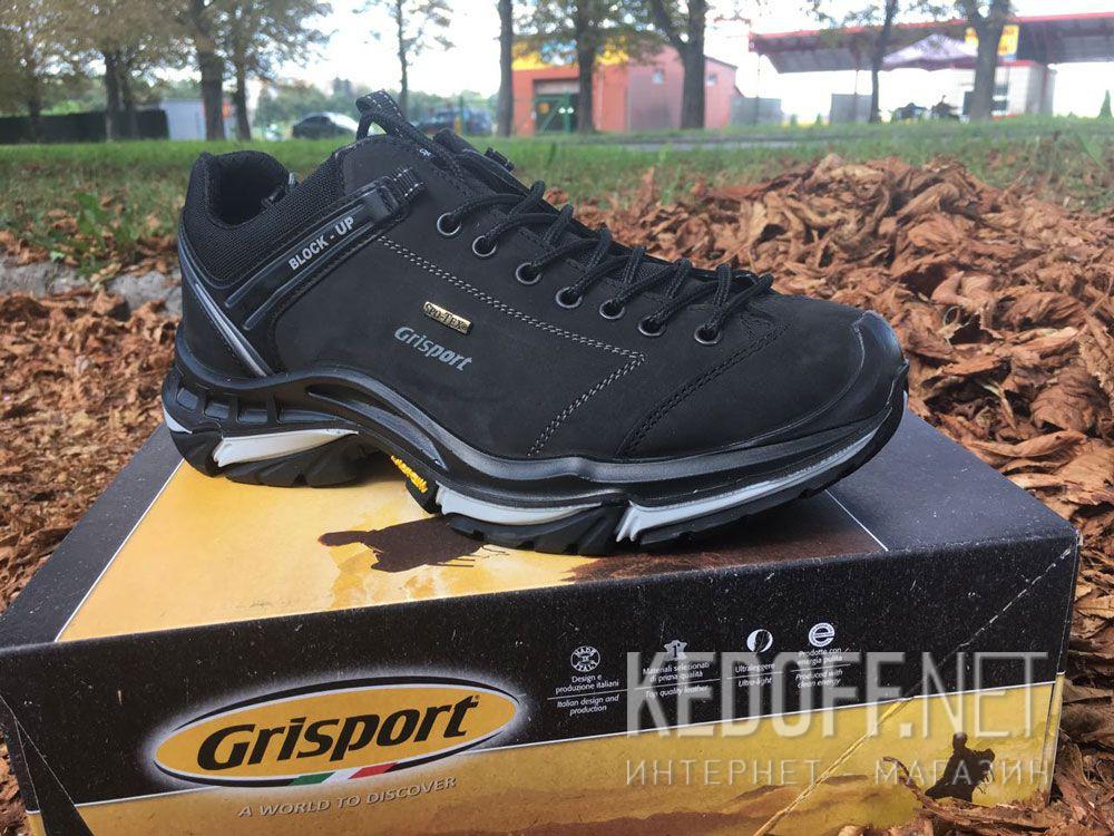 Мужские кроссовки Grisport Spo Tex Vibram 11927N90tn Made in Italy все размеры