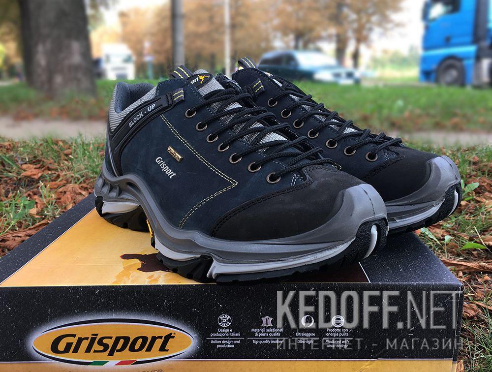 Мужские кроссовки Grisport Spo-Tex Vibram 11927N91tn Made in Italy все размеры