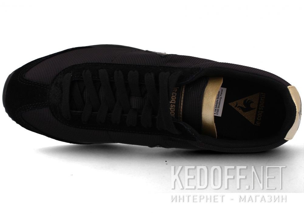 Мужские кроссовки Le Coq Sportif Quartz Metallic Black 1910774 - LCS описание