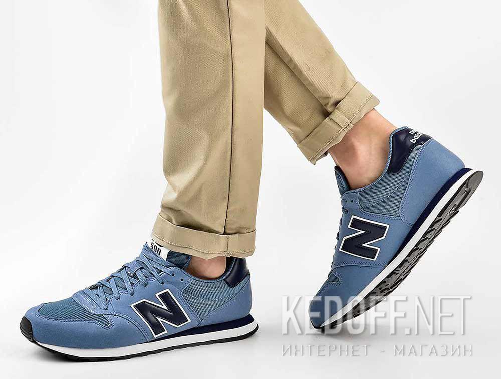 Мужские кроссовки New Balance GM500BBN все размеры