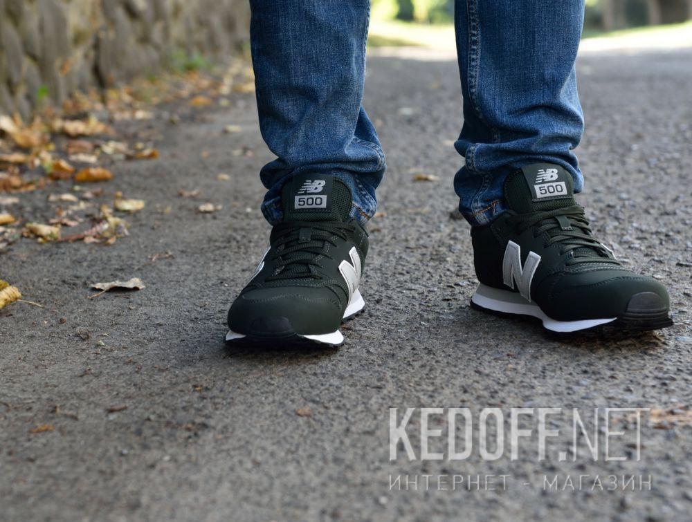 Чоловічі кросівки New Balance GM500GRG