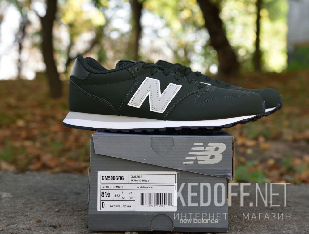 Мужские кроссовки New Balance GM500GRG Фото 12
