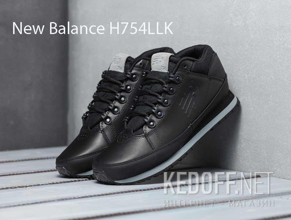 Доставка Мужские кроссовки New Balance H754LLK Чёрные