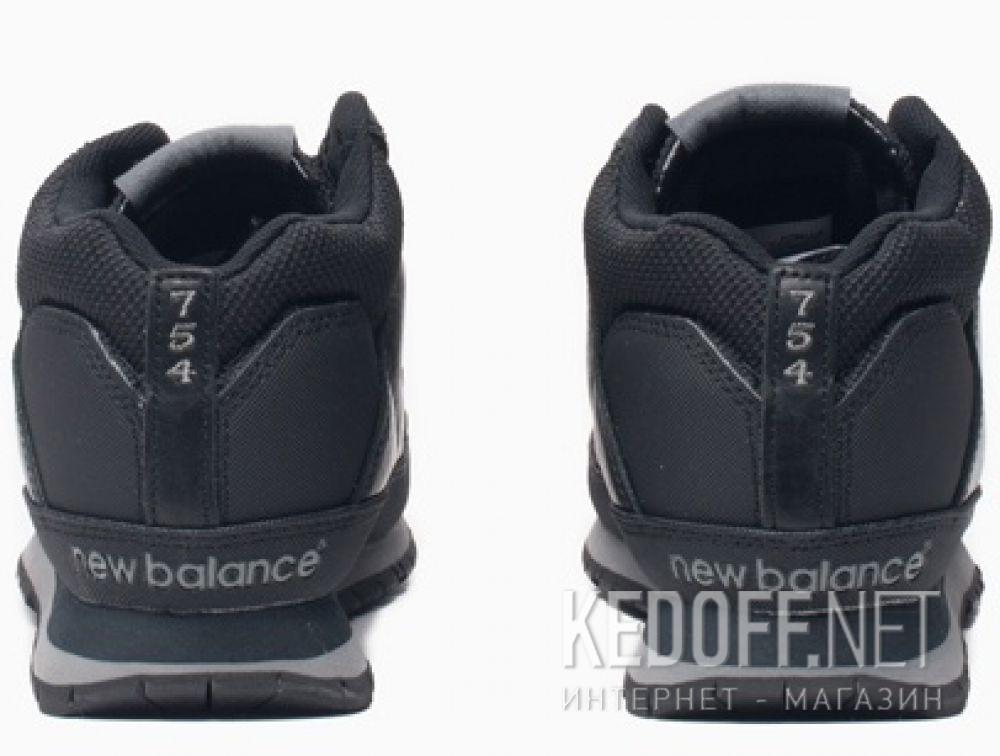 Оригинальные Мужские кроссовки New Balance H754LLK Чёрные