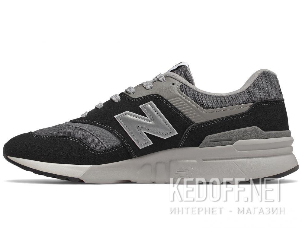 Мужские кроссовки New Balance CM997HBK Чёрные купить Киев
