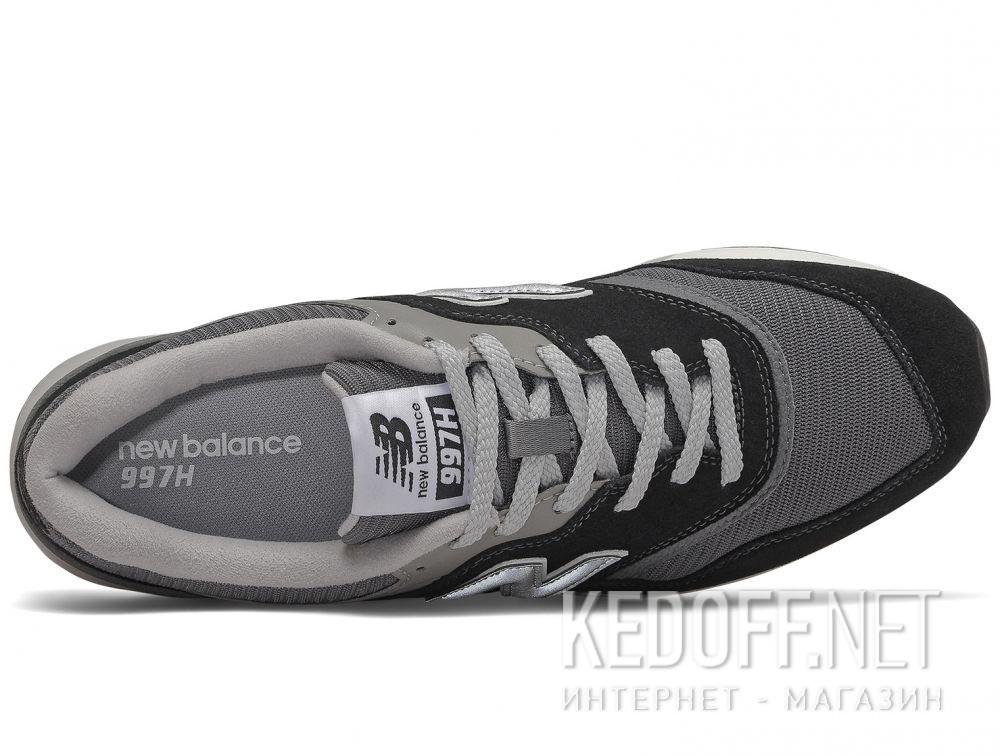 Оригинальные Мужские кроссовки New Balance CM997HBK Чёрные
