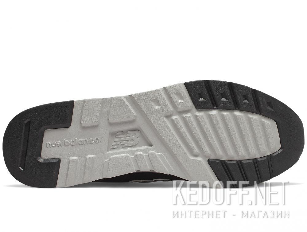 Мужские кроссовки New Balance CM997HBK Чёрные описание