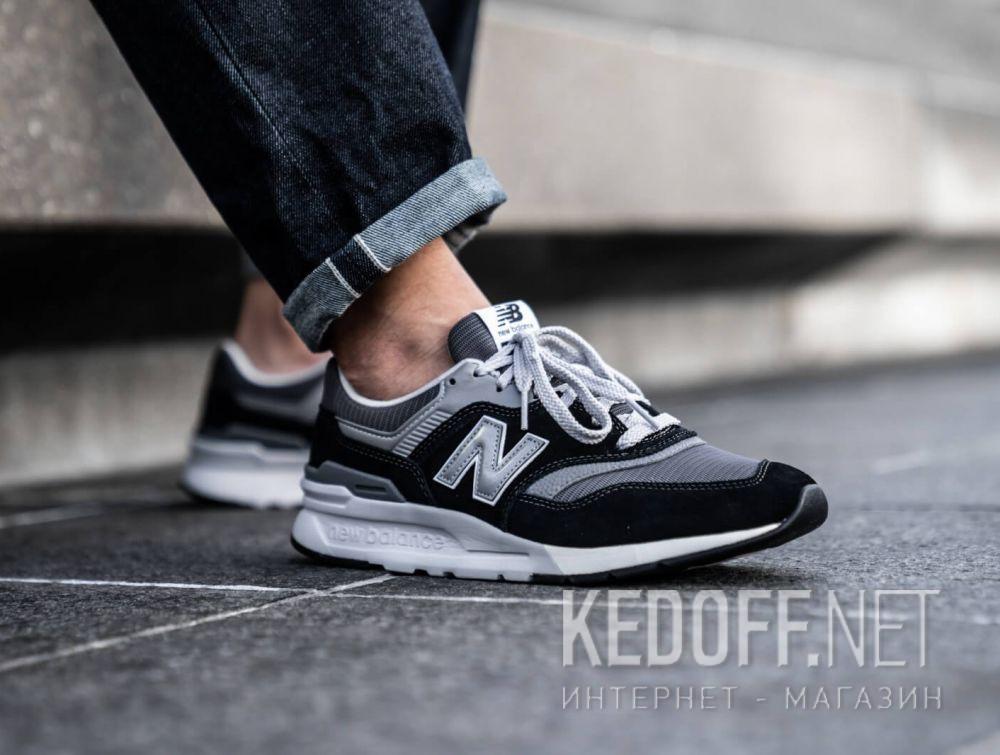 Цены на Мужские кроссовки New Balance CM997HBK Чёрные