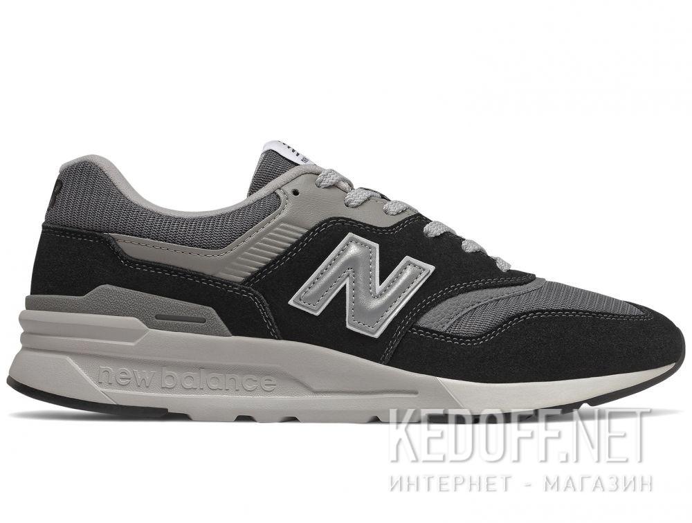 Мужские кроссовки New Balance CM997HBK Чёрные купить Украина