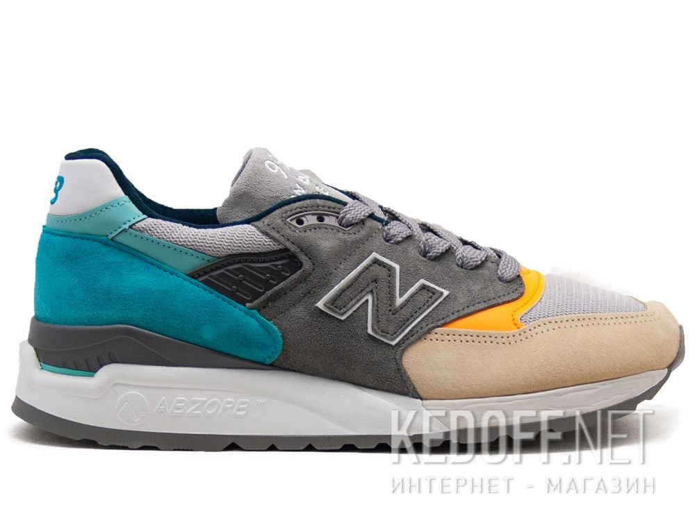 Чоловічі кросівки New Balance M998AWB Made in UK Limited Edition купить Киев