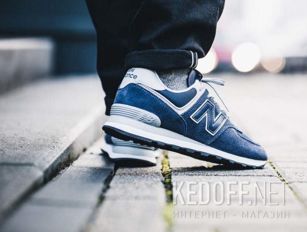 Мужские кроссовки New Balance ML574EGN все размеры