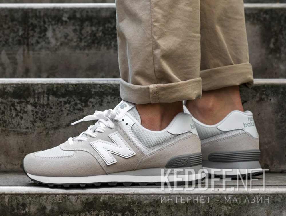 Цены на Мужские кроссовки New Balance ML574EGW