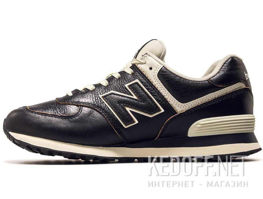 Мужские кроссовки New Balance ML574LPK Черная кожа купить Киев