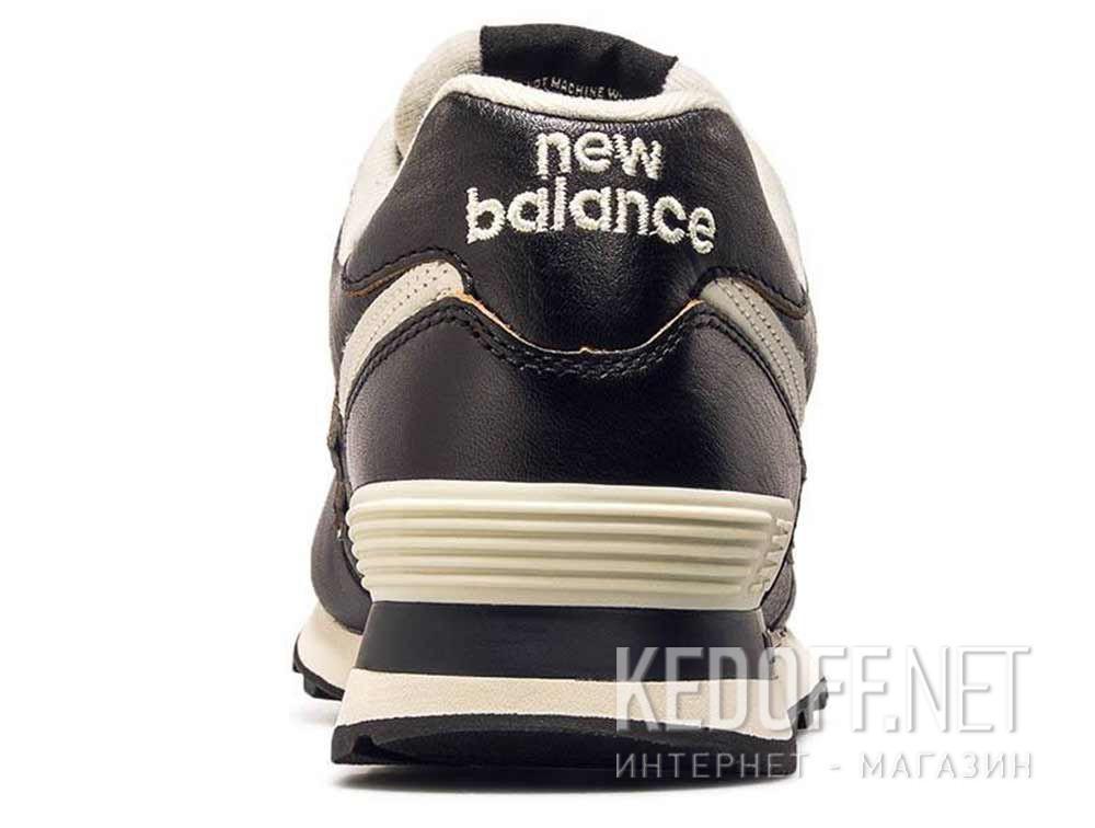Оригинальные Мужские кроссовки New Balance ML574LPK Черная кожа