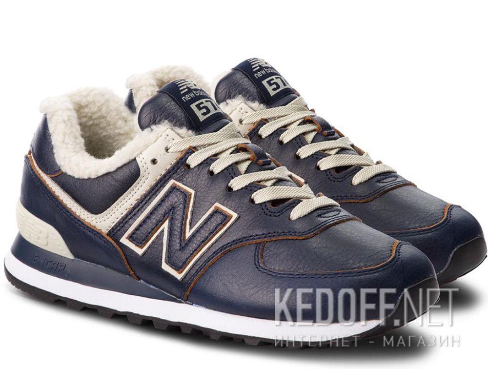 Мужские кроссовки New Balance ML574WNF с мехом купить Украина