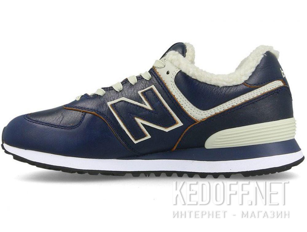 Оригинальные Мужские кроссовки New Balance ML574WNF с мехом
