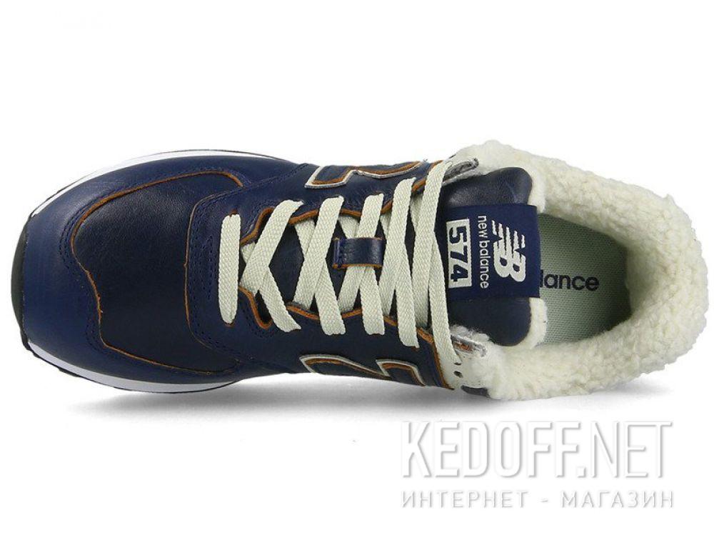 Чоловічі кросівки New Balance ML574WNF з хутром описание