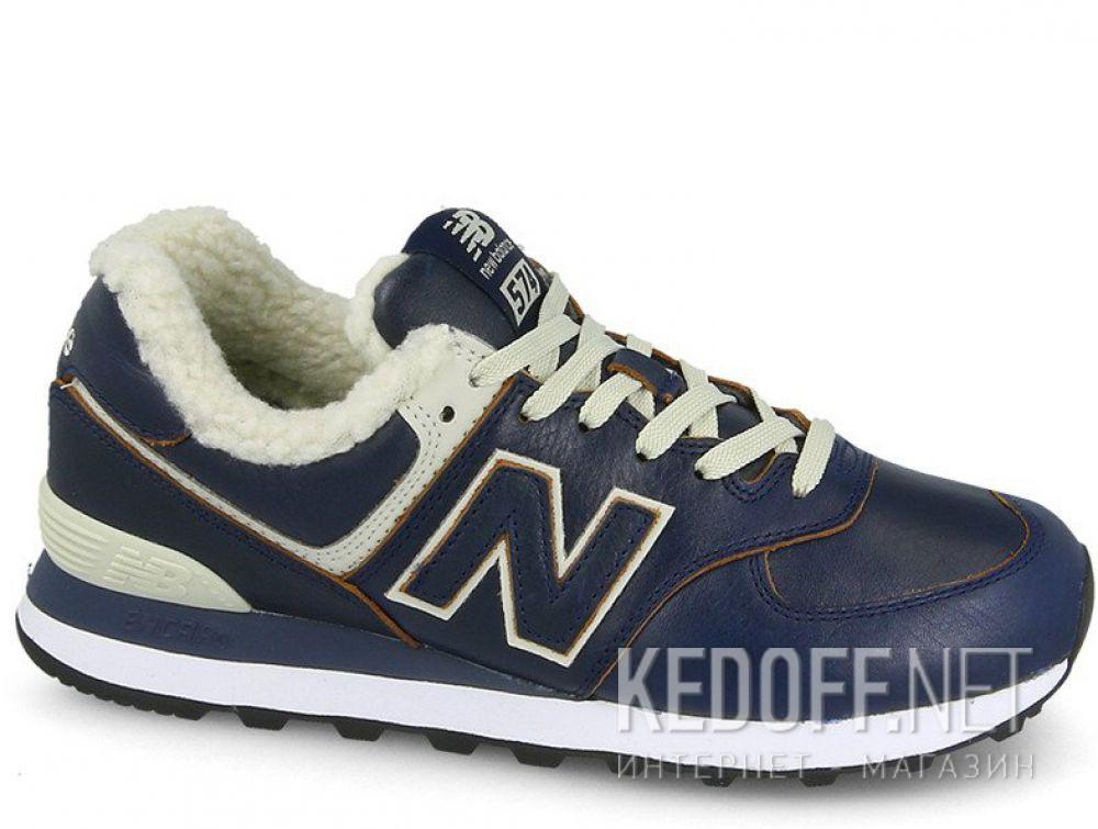 Мужские кроссовки New Balance ML574WNF с мехом купить Киев