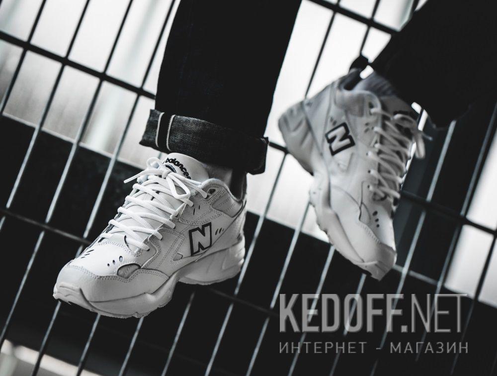 Доставка Мужские кроссовки New Balance MX608WT White Leather
