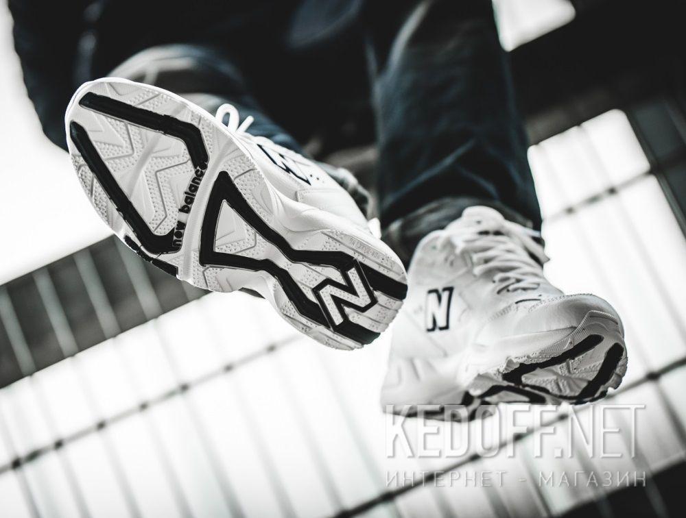 Мужские кроссовки New Balance MX608WT White Leather доставка по Украине