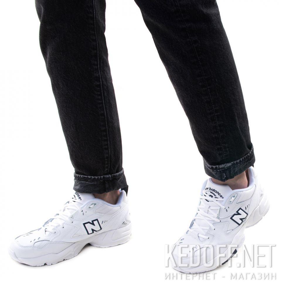Мужские кроссовки New Balance MX608WT White Leather Фото 12