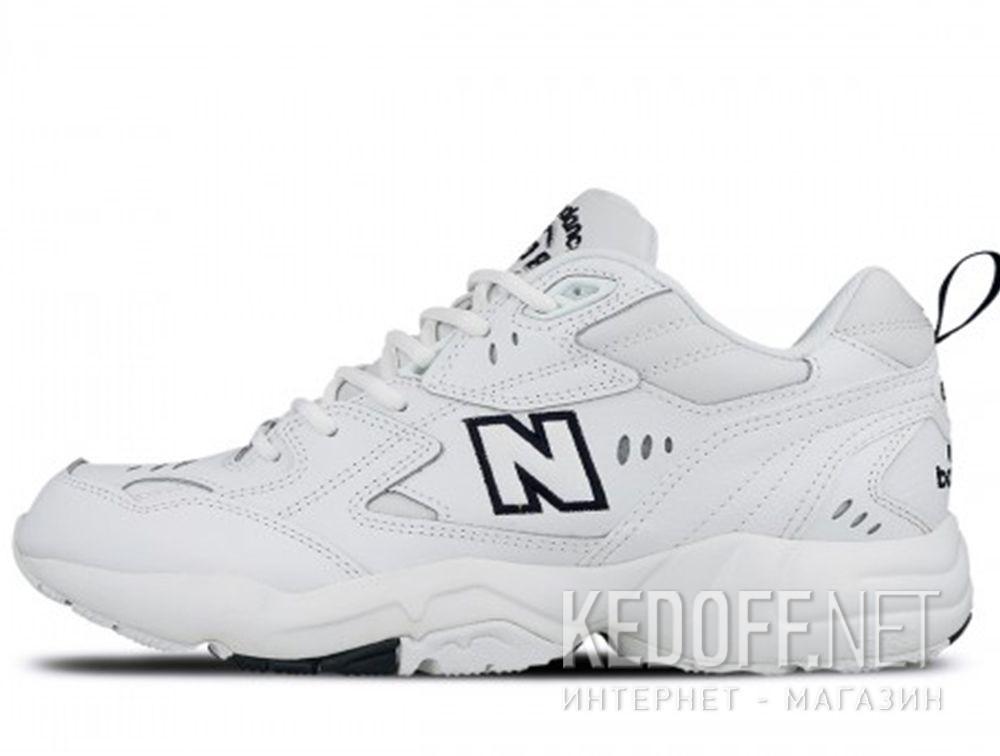 Оригинальные Мужские кроссовки New Balance MX608WT White Leather