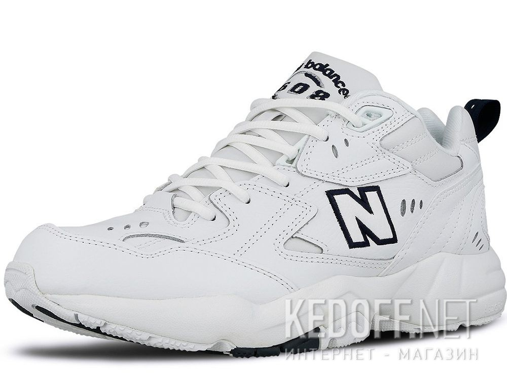 Мужские кроссовки New Balance MX608WT White Leather купить Киев