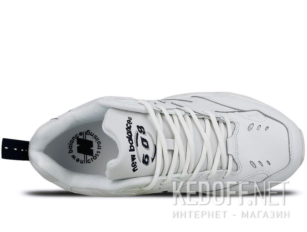 Мужские кроссовки New Balance MX608WT White Leather описание